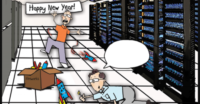 Friday Funny: New Year in the Data Center