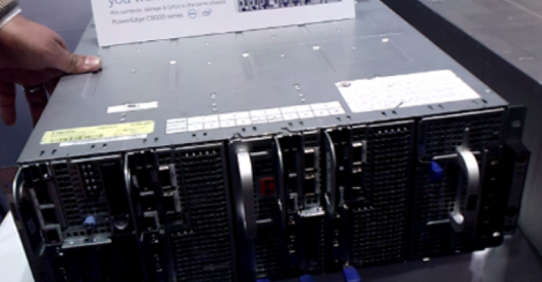 Video: Servers Stacked Like Books on a Shelf