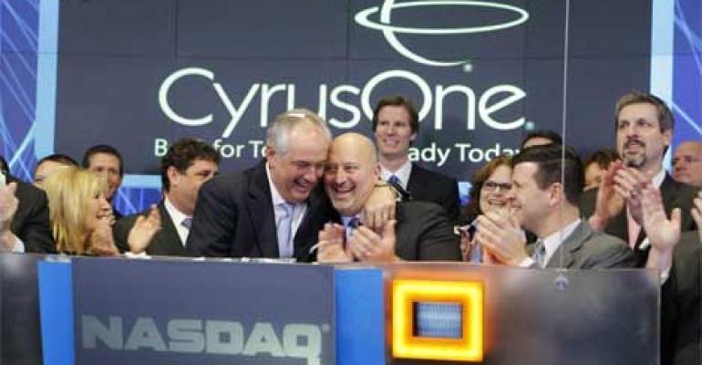 CyrusOne Marks IPO at NASDAQ Market Site