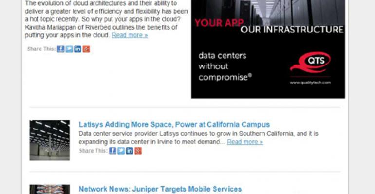 Data Center Knowledge Spiffs Up its Email Newsletter