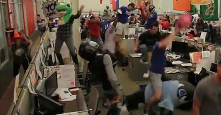 """Rackspace Does The """"Harlem Shake"""""""