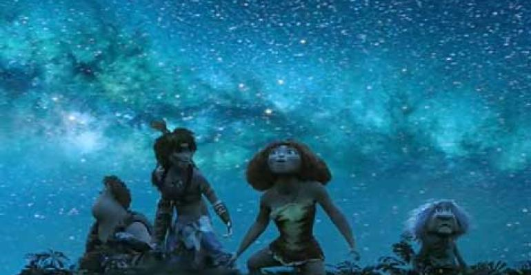 "80 Million Hours of Digital Rendering Produce ""The Croods"""