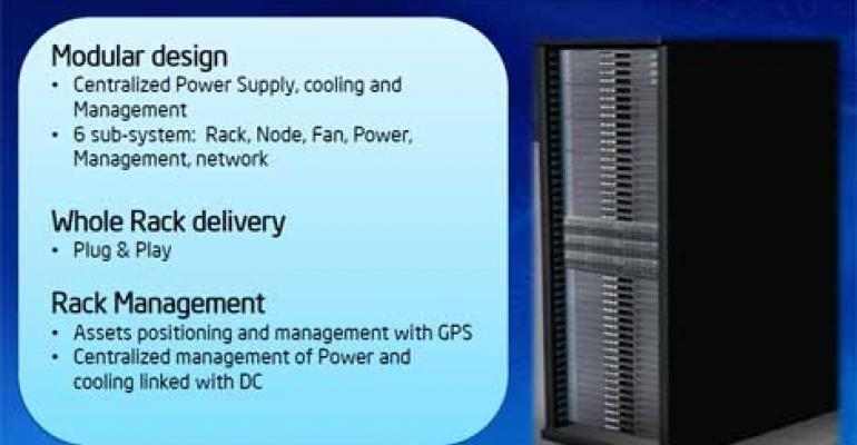 Intel Continues to Rethink the Rack of the Future