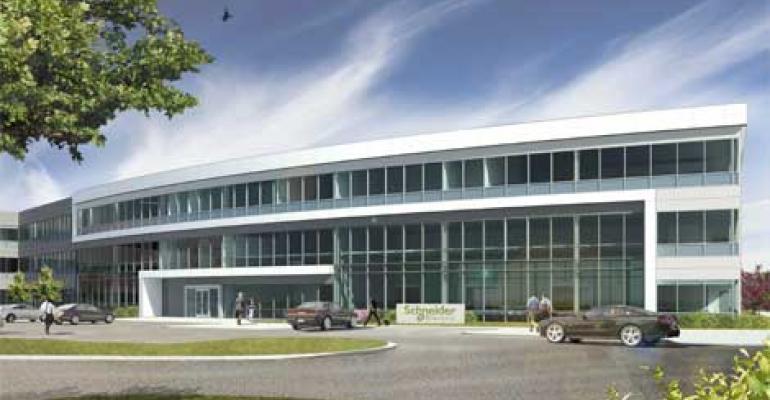 Schneider Building SaaS Version of DCIM Software