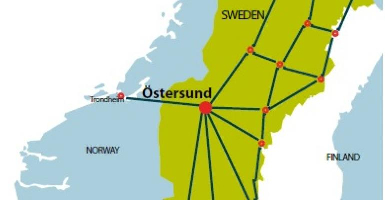 Sweden's Östersund Gets in the Data Center Game