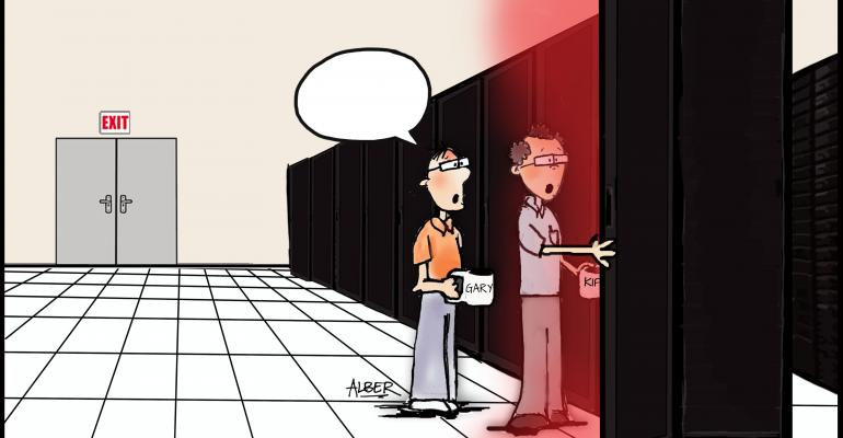 """Friday Funny: What's the Best Caption for """"Seeing the Light""""?"""