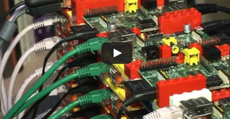 Video: Building a Supercomputer with Raspberry Pi & Legos
