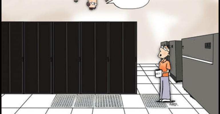 Friday Funny: Hanging Around the Data Center