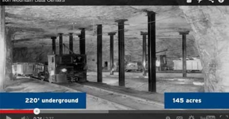 Iron Mountain Underground Data Center Tour Data Center
