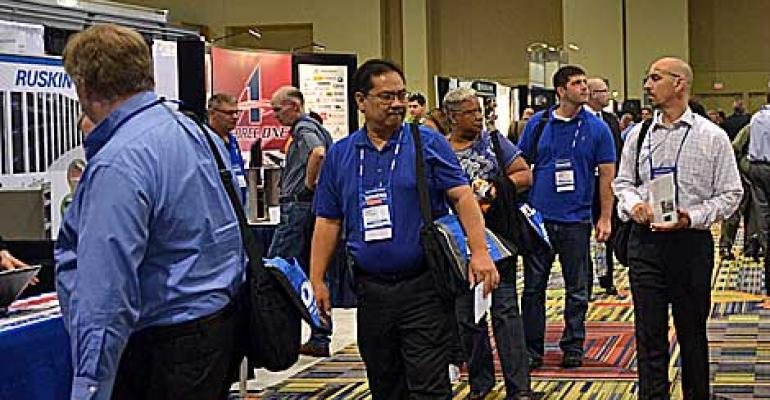 More Scenes from Data Center World, Fall 2013