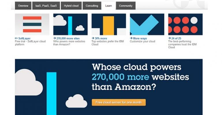 New IBM Cloud Ad Campaign Targets Competitor Amazon