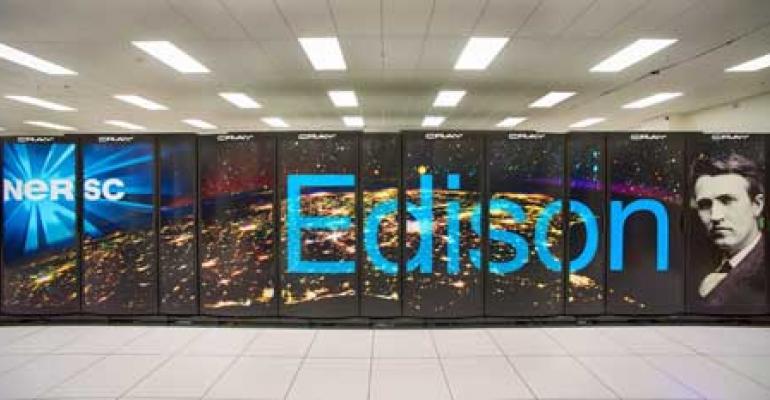 NERSC Flips the Switch on New Edison Supercomputer