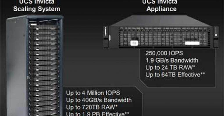 Cisco Boosts UCS With Invicta Flash Memory, New Nexus Switches