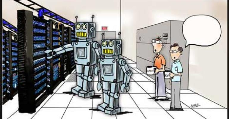 Friday Funny: Robots in the Data Center