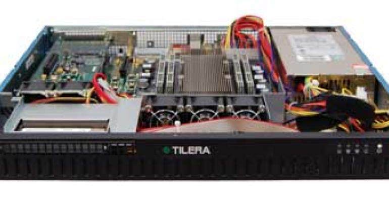 Tilera Unveils Many-Core Appliance for Security Apps