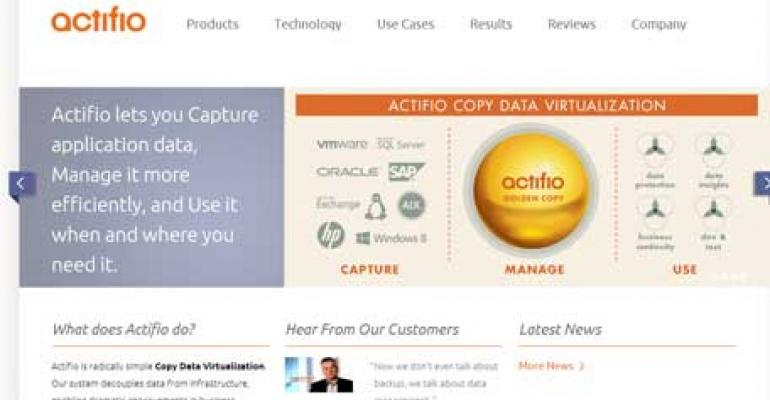 Actifio Secures $100 Million, Funding Values Company at $1.1 Billion