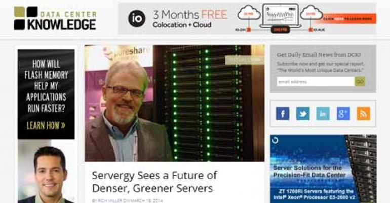 A New Look for Data Center Knowledge