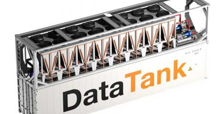 DataTank: Immersion Containers for Industrial Bitcoin Mining