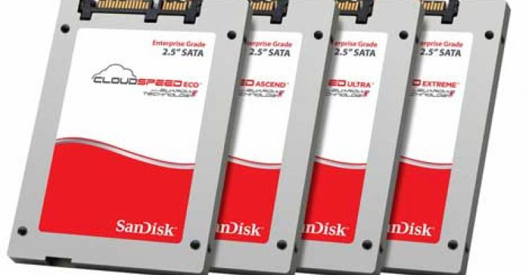SanDisk Expands CloudSpeed Family of SSD Enterprise Storage