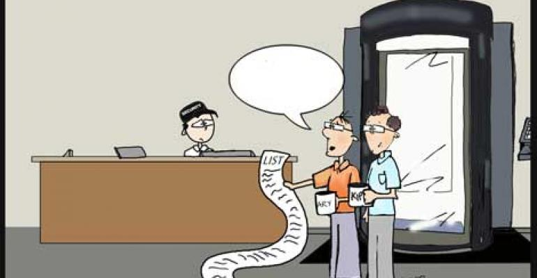 "Friday Funny: ""Checking It Twice"" Cartoon"