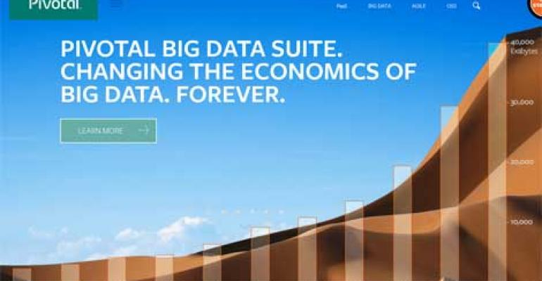 Pivotal Launches Pay-as-You-Go Big Data Bundle