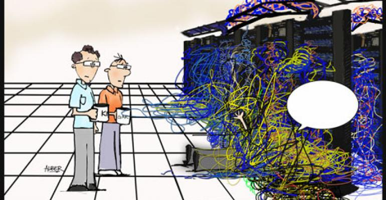Friday Funny: Pick the Best Caption for 'Caught Up In Cables'
