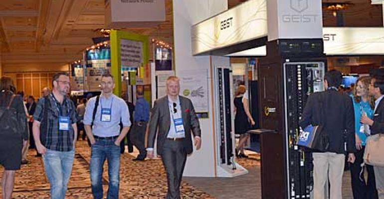 Data Center World Expo Hall Highlights