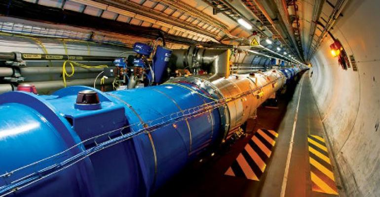 Big Data For CERN Requires a Big Network