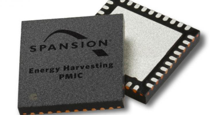 With Energy Harvesting Circuits Spansion Aims for Greener Internet of Things