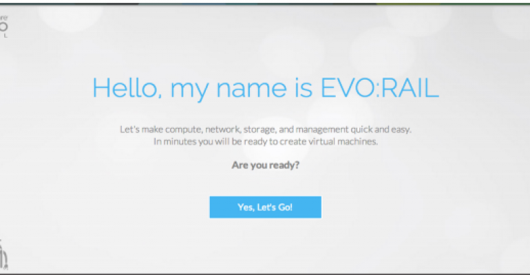 VMware Launches EVO: RAIL Hyperscale Converged Infrastructure