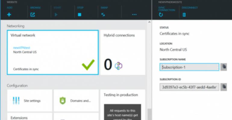 Azure Websites Now Scale Better