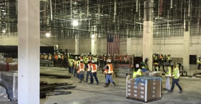 "Data Foundry ""Tops Off"" Houston Data Center"