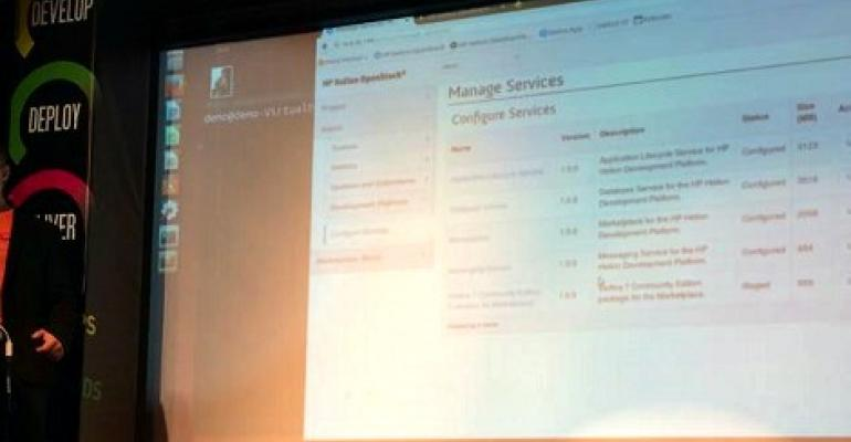 HP Rolls Out OpenStack-based Helion Cloud and App Development Platform