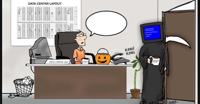 Friday Funny Caption Contest: Blue Screen