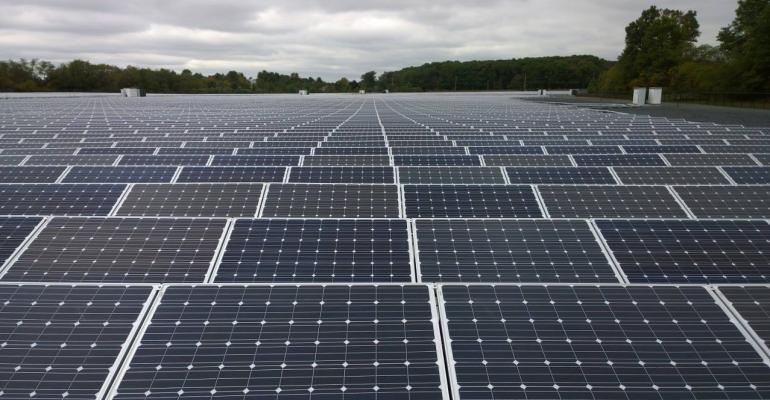 Super-Sizing Solar Power for Data Centers