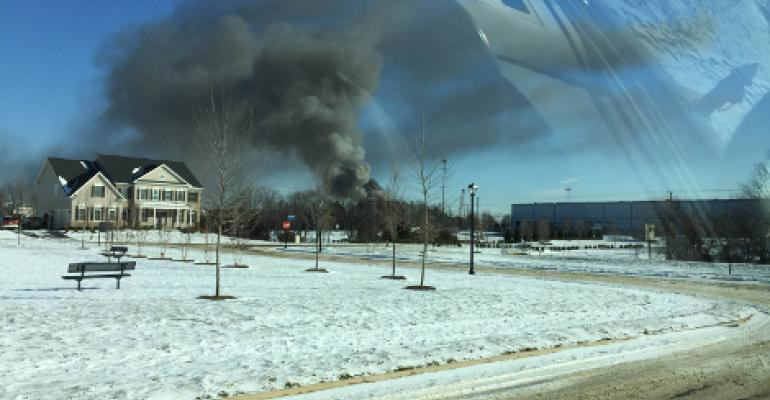 Amazon Data Center Construction Fire Linked to Welding Mishap