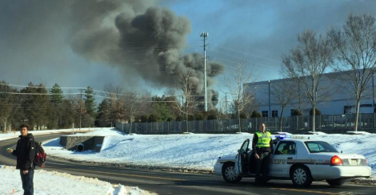 Fire at Amazon Data Center Construction Site in Ashburn Contained