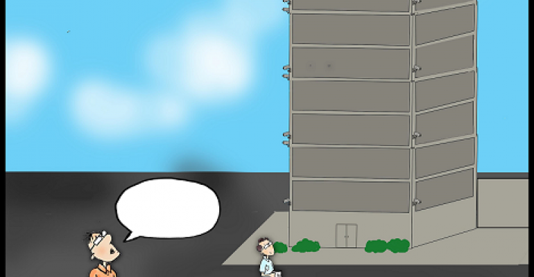 Friday Funny: Pick the Best Caption for Tall Data Center