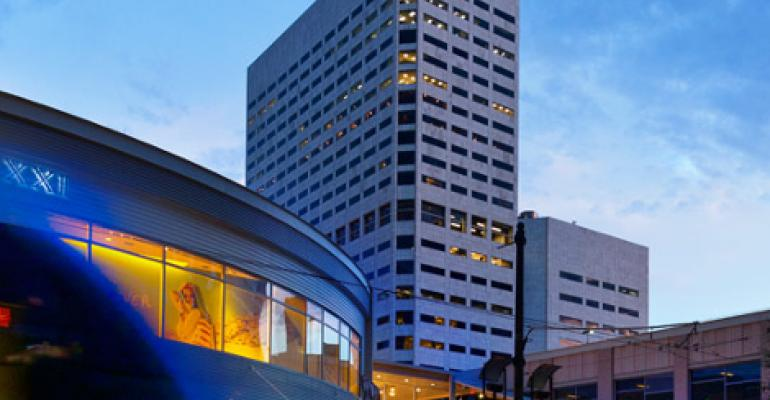 Netrality's 25-story data center and carrier hotel at 1301 Fannin St., Houston