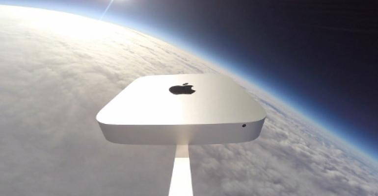 Video: Watch a Mac Mini Fly to Space