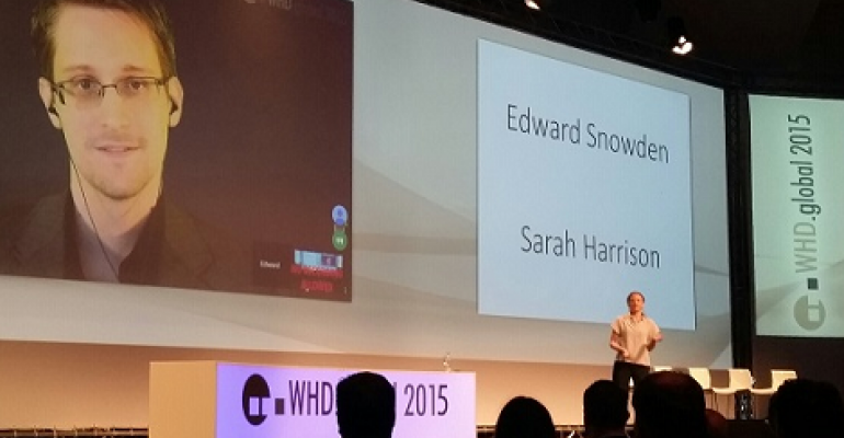 Snowden Urges Cloud Providers to Take Action Against Mass Surveillance