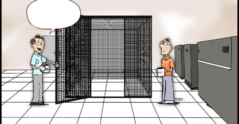 "Friday Funny: Pick a Caption for ""Empty Cage"""