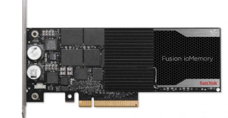 SanDisk: New Fusion-io PCIe Flash Cards Shrink Data Center Footprint