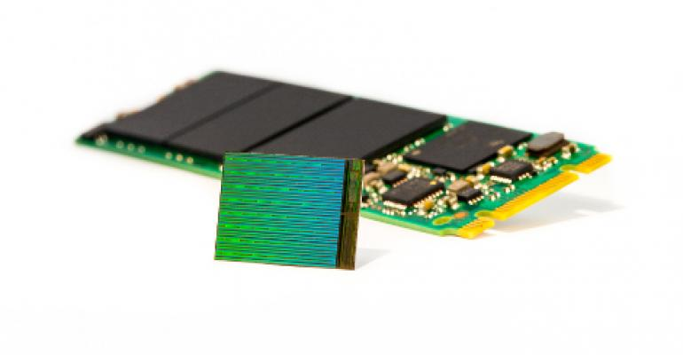 Intel, Micron: New 3D NAND Flash Triples Memory Capacity