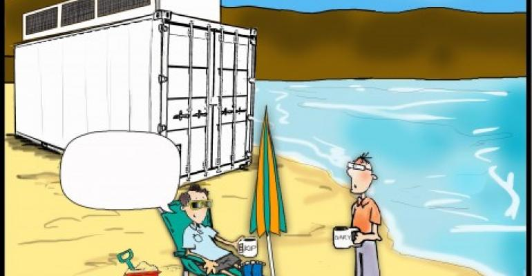 Friday Funny: Pick a Caption for Beached Data Center