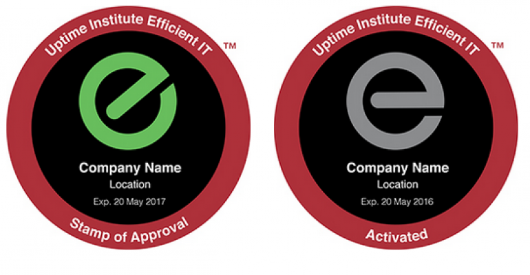The Uptime Institute's New Efficient IT Stamp of Approval