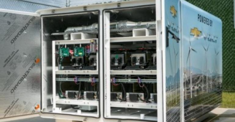 Do Electric Car Batteries Dream of Data Centers?