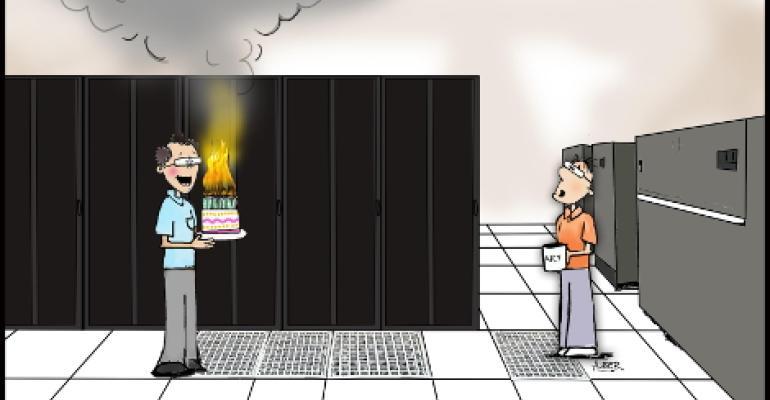 Friday Funny: A Data Center Birthday