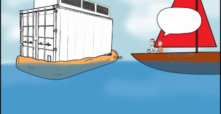 Friday Funny: Floating Data Center