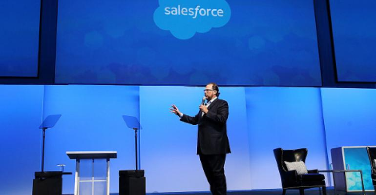 Salesforce to Use AWS and Own Data Centers in Expansion Push